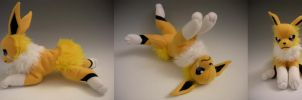 Custom Jolteon Plushie by WhittyKitty