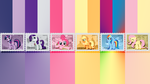 Mane6 Stamps by pims1978