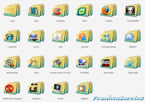My Se7en App Folder Icons 2 by FrankenBerries