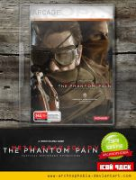 Metal Gear Solid V - The Phantom Pain (Icon Pack) by archnophobia