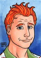 Wash Sketch Card by TheRigger