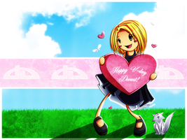 Happy Vday Deviantart by Checkered-Fedora