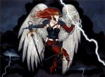 Lightning Angel by postrk