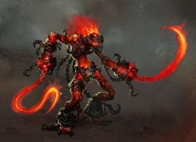 inferno maniac by michalivan