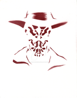 24- Minimal Rorschach by surgeonprincess