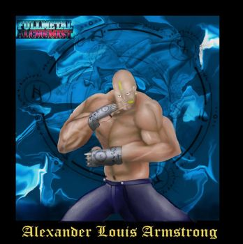 FMA- Alexander Louis Armstrong by Chief-Thunder