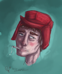 Holden Caulfield by Whispering-forests