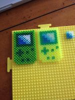Gameboys Perler Beads WIP by CassMutt