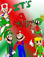 A Mario and friends christmas by Aso-Designer