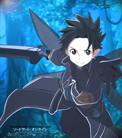 Alfheim Online - Kirito Colored ( COOL ) by bryanaldrin