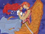 Ruby x Raneti - Let me be your wings COLORED by PegaGamer