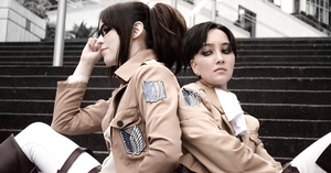SnK Cosplay - Live Together by VenTsun