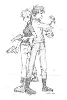 Roy n Riza sketch by rockinrobin