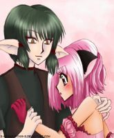 Kisshu X Ichigo by X-Spread-Wings-X