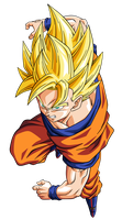 Goku super guerrero by BardockSonic