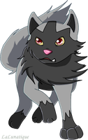 Poochyena by LaLunatique