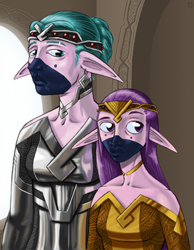 Elves by Transypoo