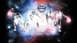 Team USA 2012 Basketball Wallpaper by rhurst