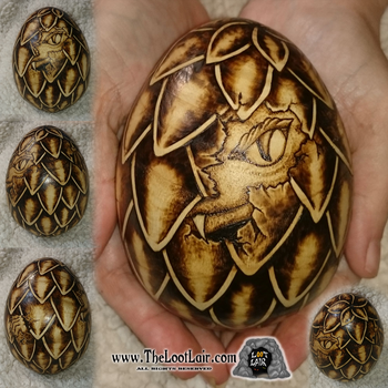 Dragon Hatchling Egg by TheLootLair by AutumnCannibal