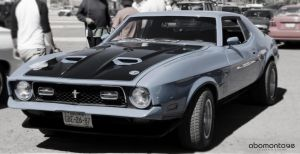 Ford Mustang 1971 by abomontage