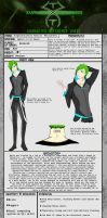 *UPDATED* Character Reference Sheet - Tyronex by Jesuka