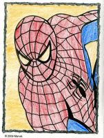 Spider-Man Coloring Page by SplendorEnt