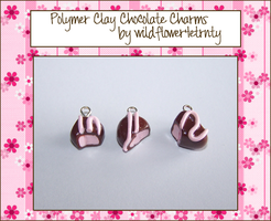 Chocolate Candy Charms by wildflower4etrnty