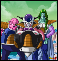 FREEZER IN NAMEK by PhazeN1