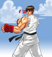 Ryu Final by hocuspukeus