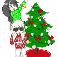 Christmas Decorating With Dave and Jade by the-amasian