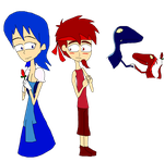 .:. JW : Blue And Red Story .:. by Rise-Of-Majora