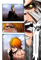 bleach 421  aizen perdio ? by marcolorde