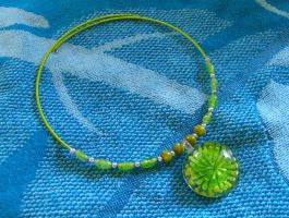 Green Glass and Wire by Autumnhound