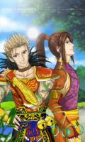 Gan Ning y Ling Tong DW6 style by CarmenMCS