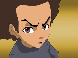 The Boondocks: Huey Freeman by Adult-Swim-Club