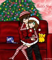 Hail and Star's Christmas by LeenaTique