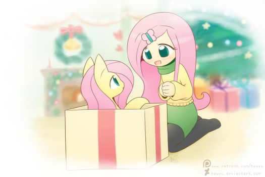 Weekly art#5 Merry Christmas by HowXu