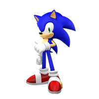 Sonic the Hedgehog by Cyberphonic4D