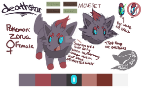 Pokesona reference 2013 :Deathstar Zorua: by deathstar899188