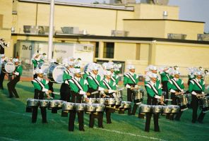 Old Film: Drum Corps II by factorone33