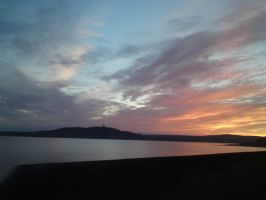 Scrabo Tower from afar by GrafixGirlIreland