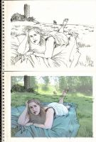 Fantasy Life Drawing Lesson 002 Sketching by SpiritedFool