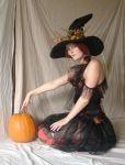 Autumn Witch 3 by mizzd-stock