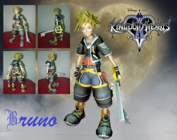 Sora Papercraft by BrunoPigh