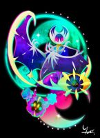 Cosmog, Cosmoem and Lunala