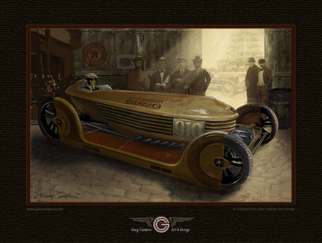 The car that never was. by GaryCampesi