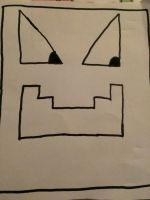 My own icon for my new texture pack (Geometry Dash by JonyTheDragon