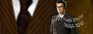 Tenth Doctor Facebook cover by Leda74