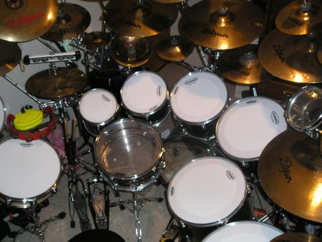 My Drum Set! :) by thenuttydude15003