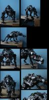bionicle: draig the dragon of hatred by CASETHEFACE